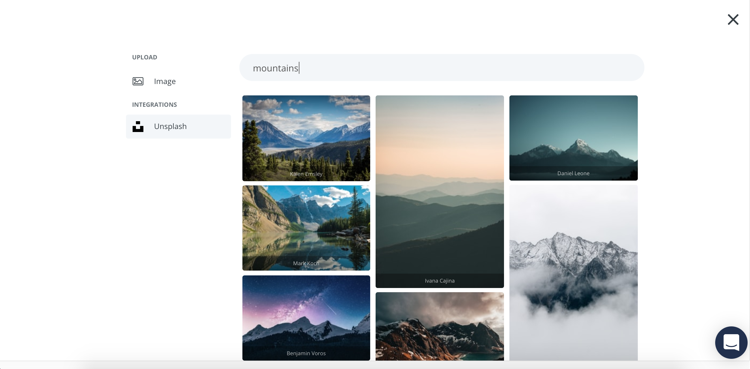 ConvertKit Formulare: Unsplash Integration